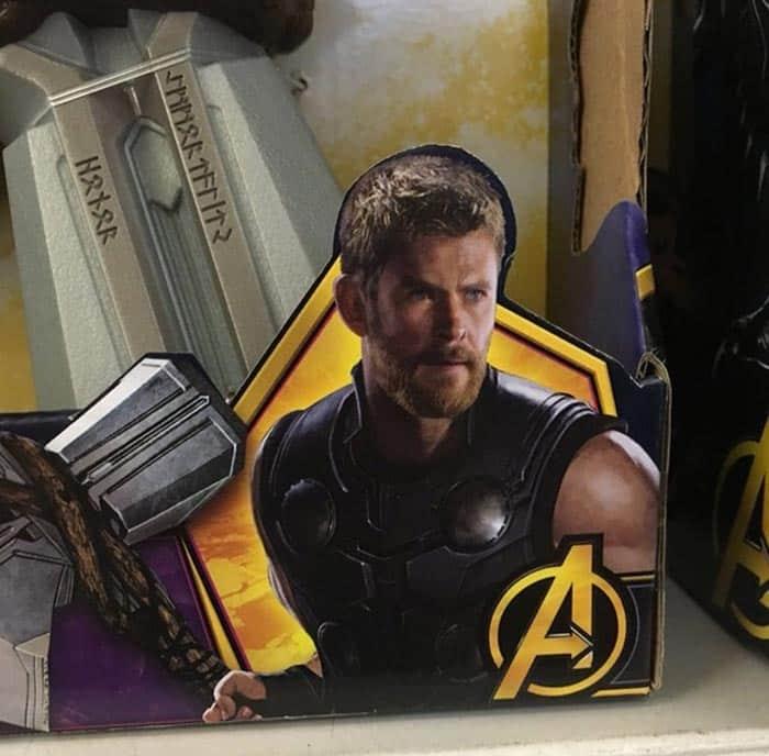 Thor en Vengadores: Infinity War (2018)