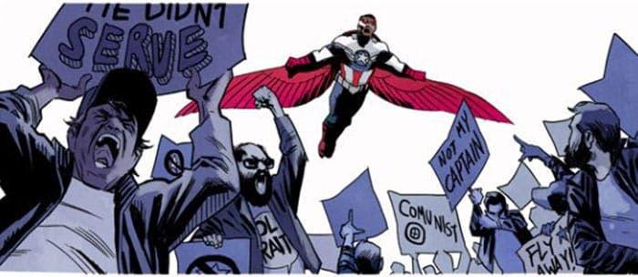 Ignatius Farray en un cómic de Marvel de Capitán América