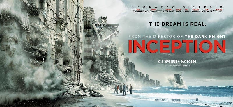 póster de Origen (Inception)