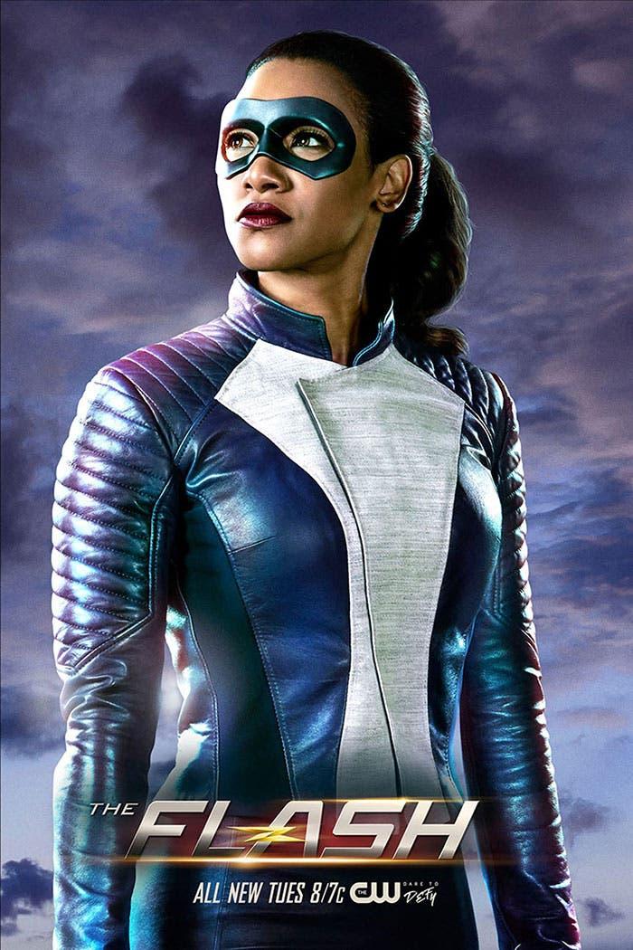 Iris West como superhéroe en The Flash