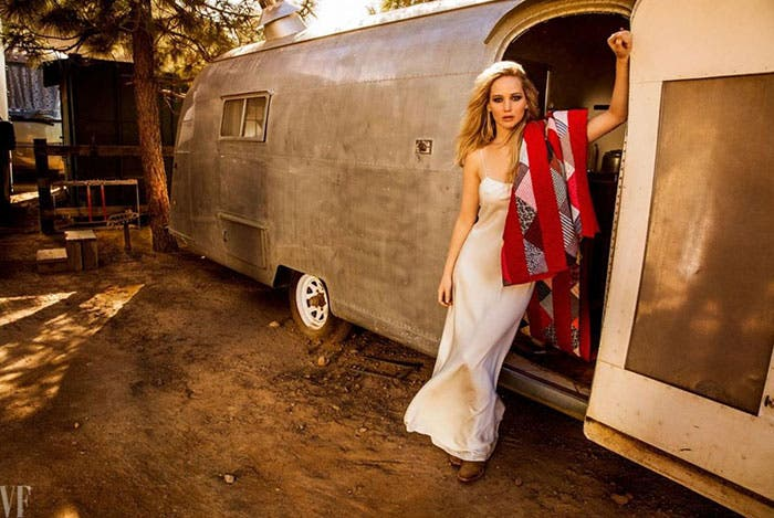 Jennifer Lawrence en Vanity Fair