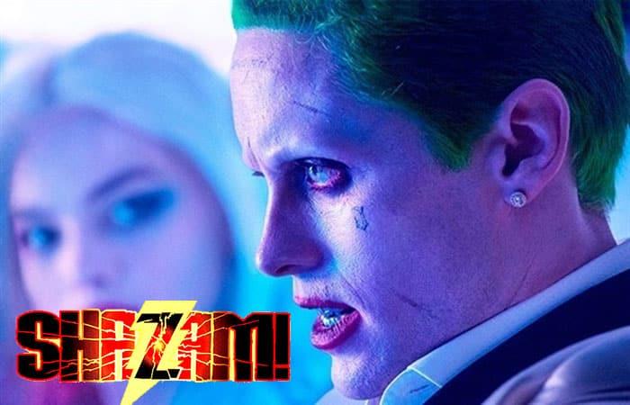 El Joker aparece en el rodaje de Shazam!