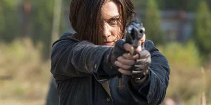 Lauren Cohan en la serie The Walking Dead
