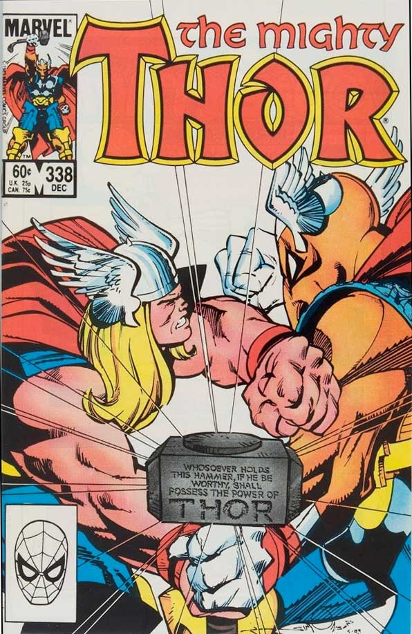 Beta Ray Bill personaje de Marvel