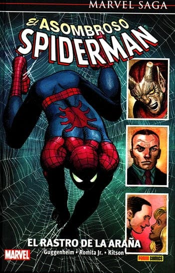 Portada El asombroso Spider-man: El rastro de la araña