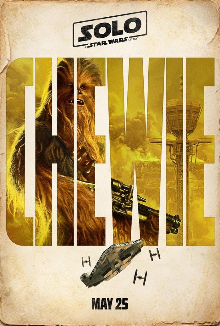 Chewbacca en Han Solo: Una historia de Star Wars (Solo: A Star Wars Story)