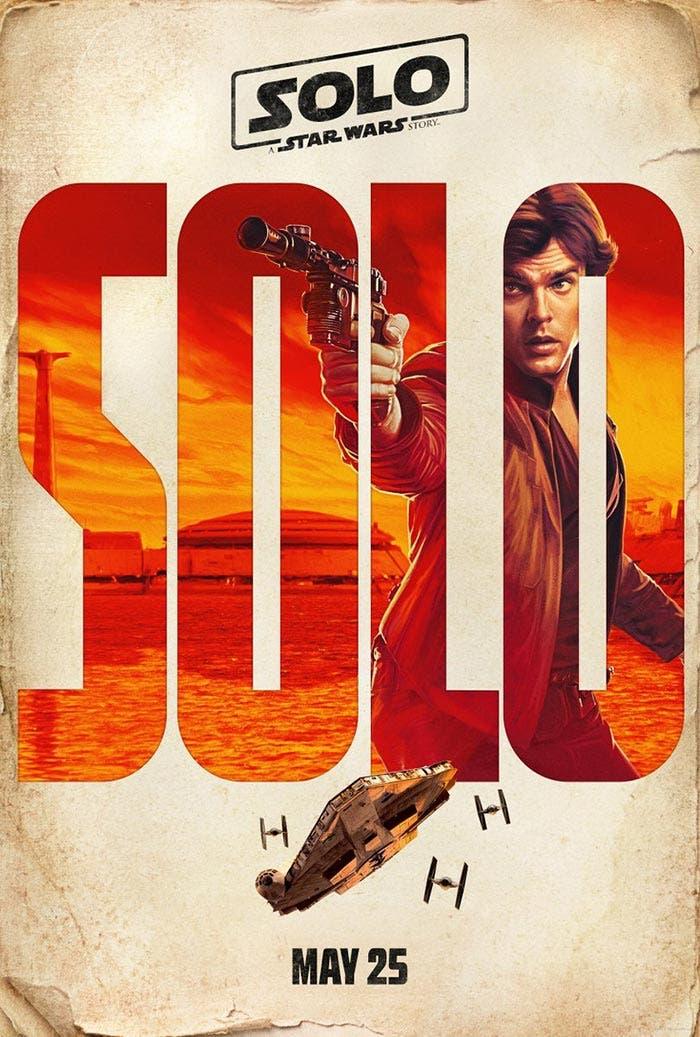 Han Solo en Han Solo: Una historia de Star Wars (Solo: A Star Wars Story)