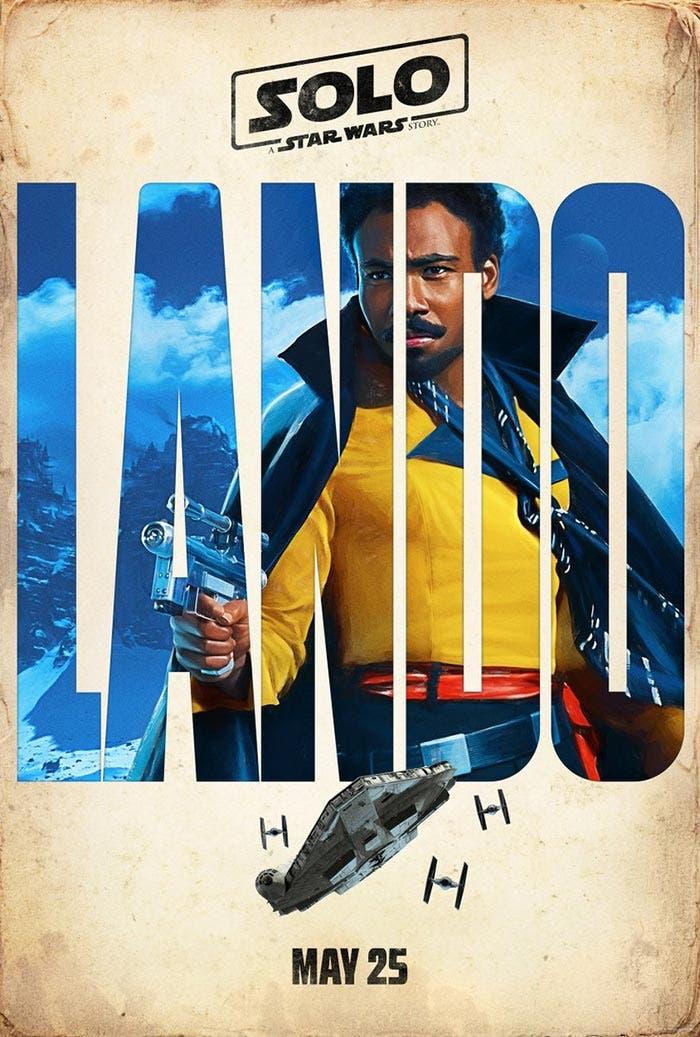 Lando en Han Solo: Una historia de Star Wars (Solo: A Star Wars Story)