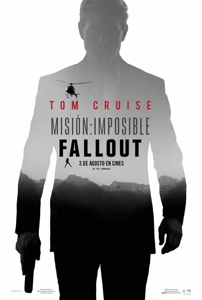 Póster de Misión Imposible: Fallout (Misión Imposible 6)