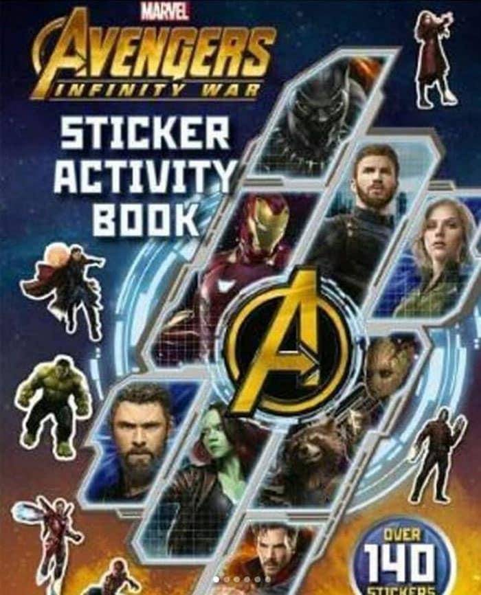 Imagen promocional de Vengadores: Infinity War