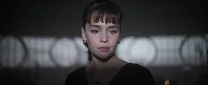 Qui'Ra (Emilia Clarke) en Han Solo: Una historia de Star Wars (Solo: A Star Wars Story)