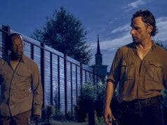 Rick y Morgan en The Walking Dead
