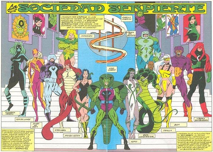 Sociedad Serpiente en Vengadores: Infinity War