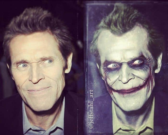 Willem Dafoe pudo ser El Joker en Batman (Tim Burton, 1989)