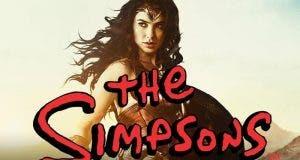 Wonder Woman cambia DC Comics por Los Simpson