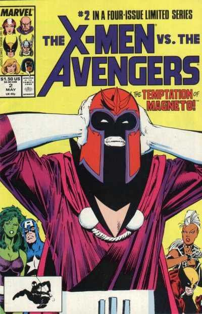 The x-men vs The avengers