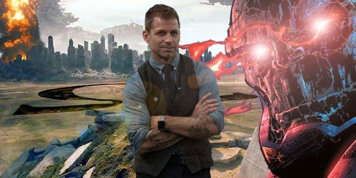 Zack Snyder iba a presentar a Darkseid en la Liga de la Justicia (2017)