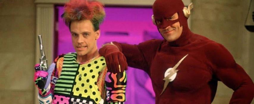Mark Hamill como Tricksters en The flash en los 90