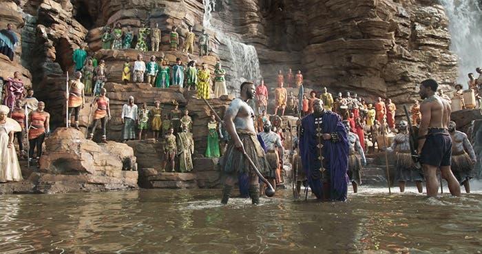 Warrior Falls Wakanda