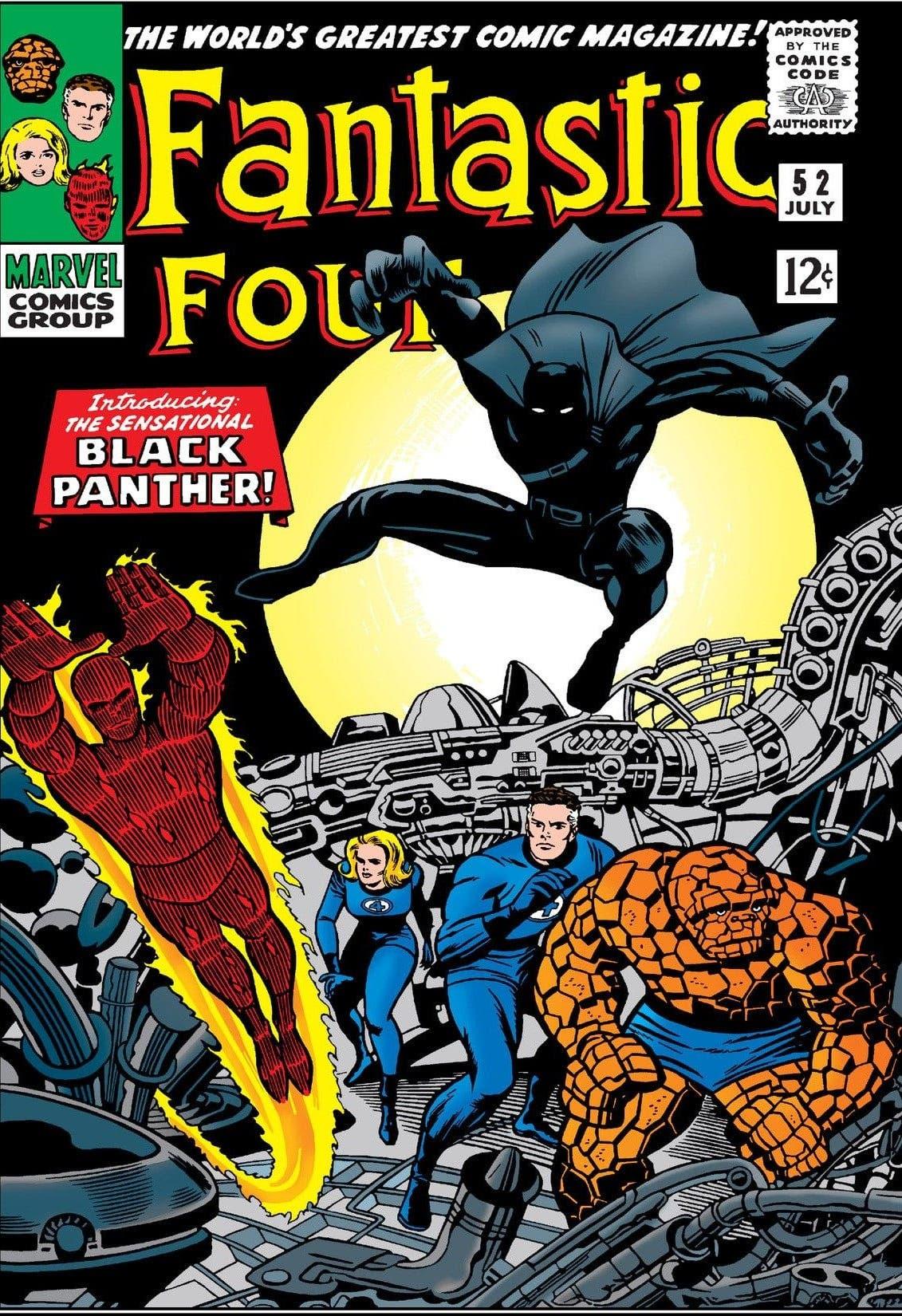 Fantastic Four vol 1 Nº52