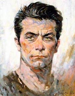 Auto retrato de Frank Frazetta