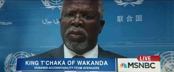 Rey T'Chaka de Wakanda