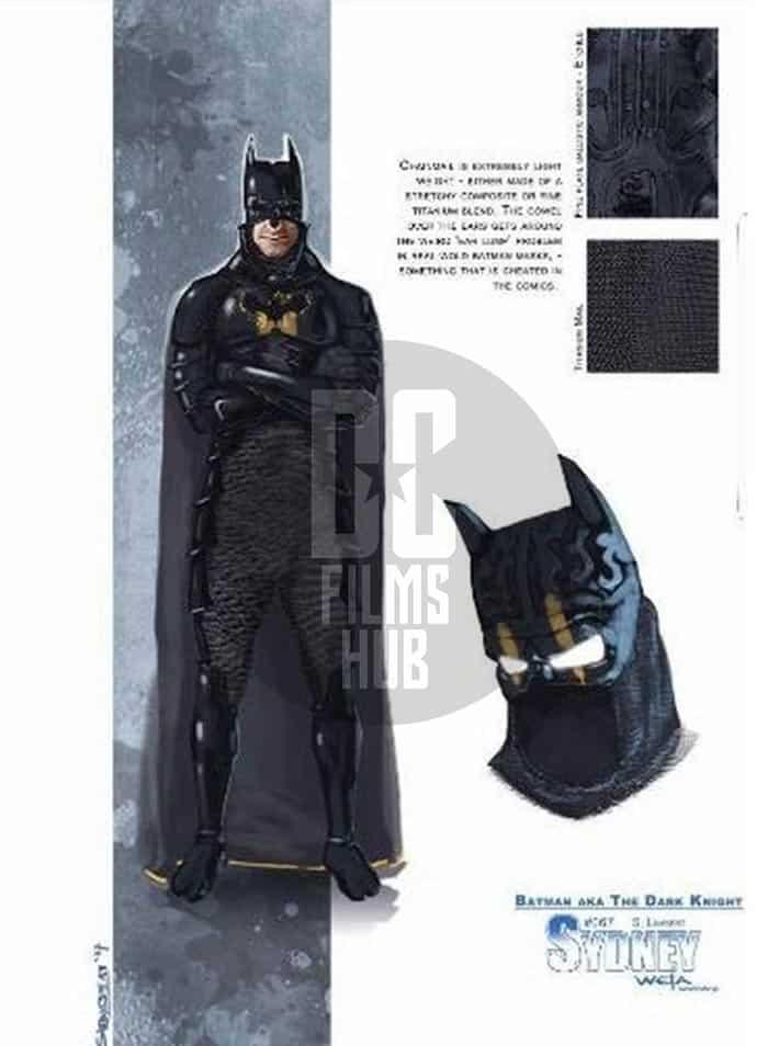 El Batman de Armie Hammer en Justice League Mortal (George Miller) antes de Ben Affleck