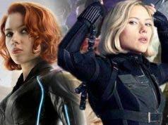 Cambio de look viuda negra Infinity war