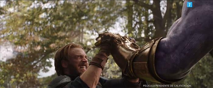 Capitán América y Thanos en el nuevo tráiler de Vengadores: Infinity War