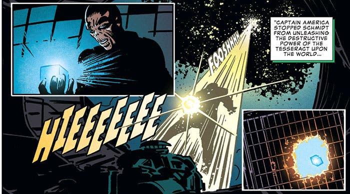 Cráneo Rojo en el cómic de Vengadores: Infinity War