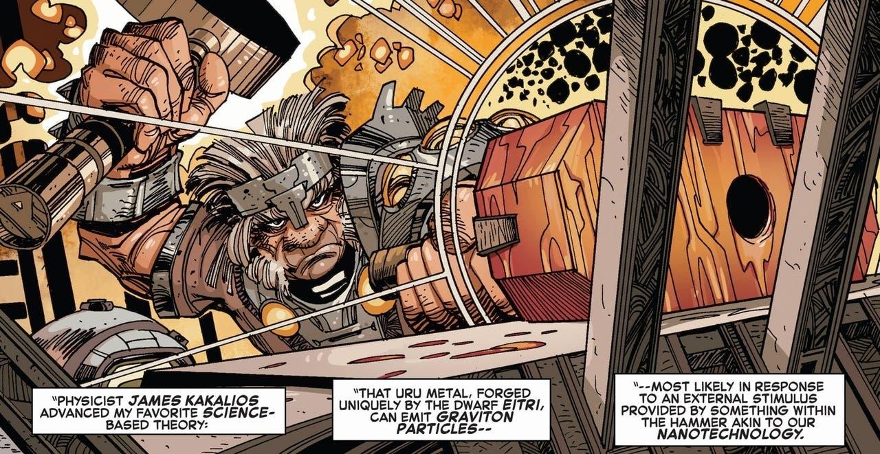 Eitri el enano será en realidad un gigante en Infinity War