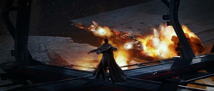 El sacrificio de la Vicealmirante Holdo en Star Wars: Los Últimos Jedi (2018)