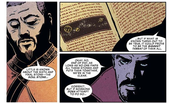 La Gema del Alma en la precuela de Vengadores: Infinity War