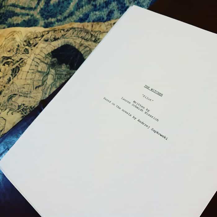 El guion del piloto de la serie The Witcher en Netflix