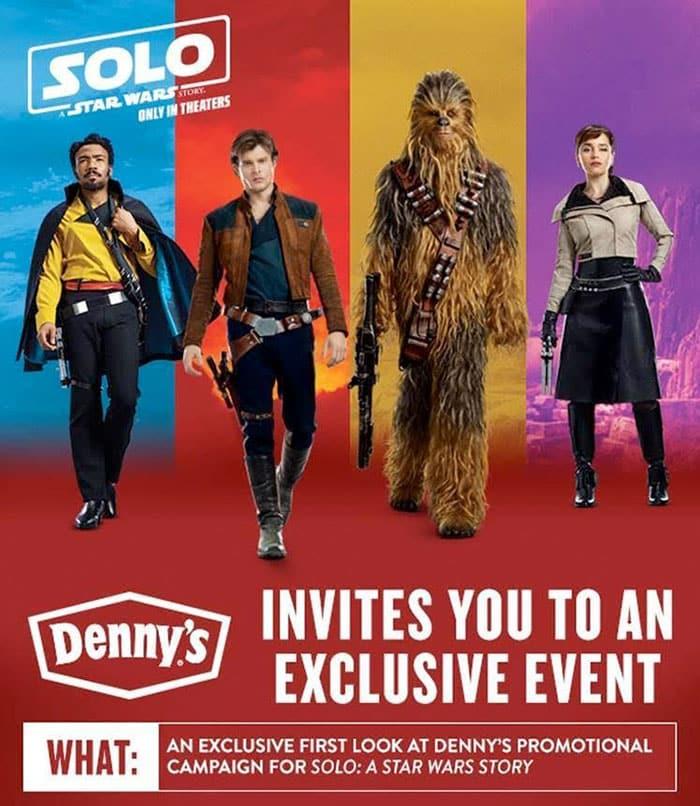 Publicidad de Han Solo: Una historia de Star Wars