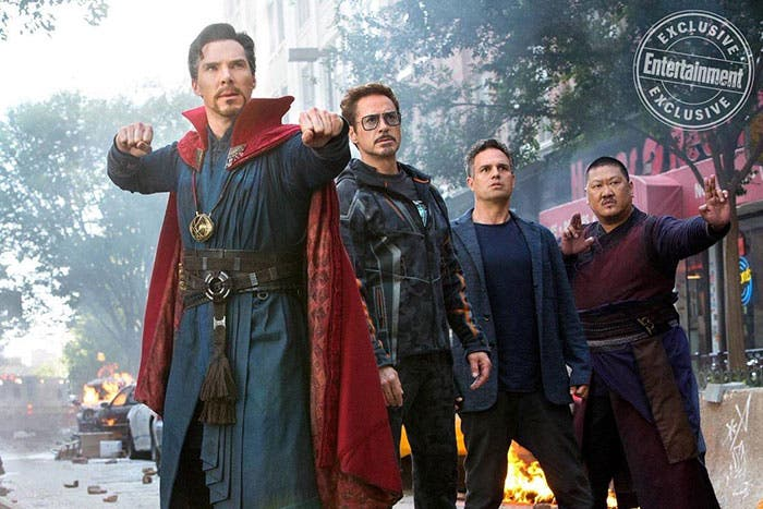 Primera imagen de los Illuminati en Vengadores: Infinity War