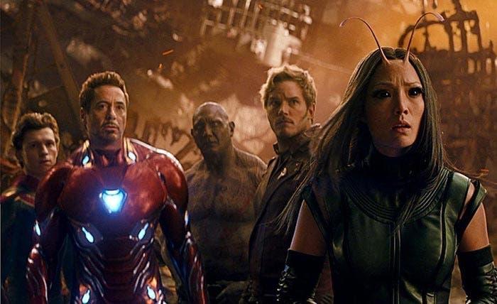 Espectacular imagen de Vengadores: Infinity War (2018) con 5 superhéroes de Marvel