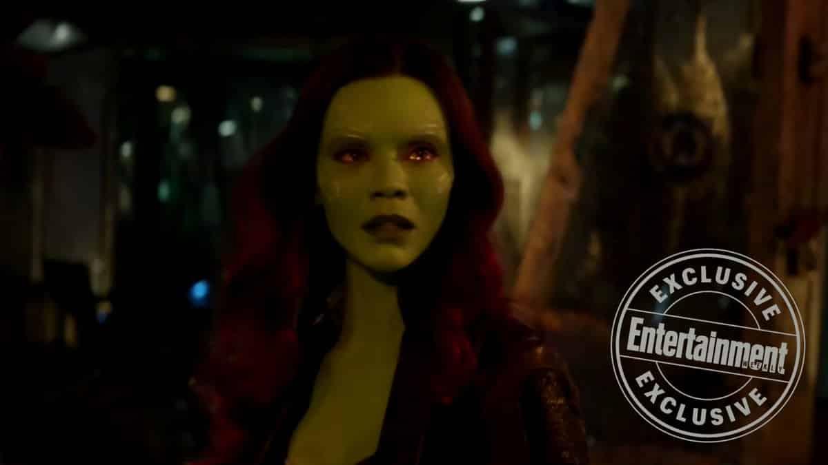 Gamora en Vengadores: Infinity War (2018)