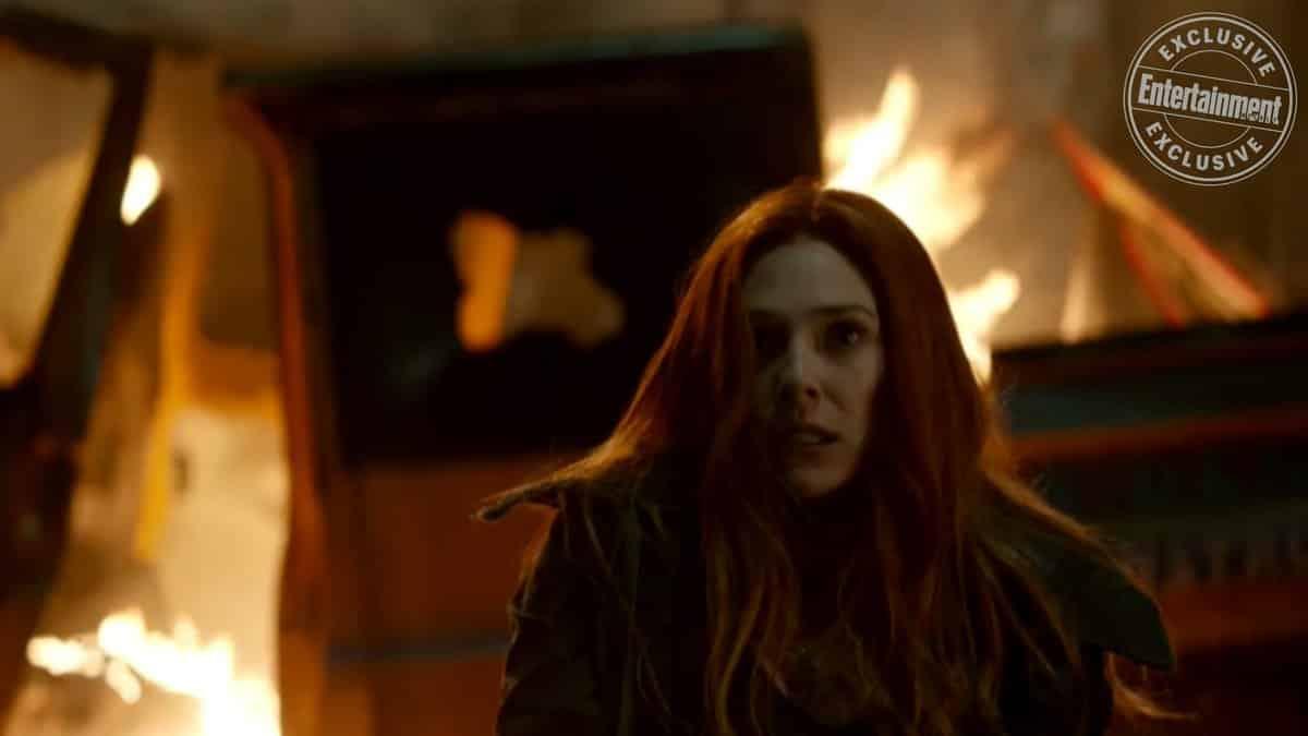 Bruja Escarlata en Vengadores: Infinity War (2018)