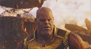 Imagen de Thanos en Vengadores: Infinity War