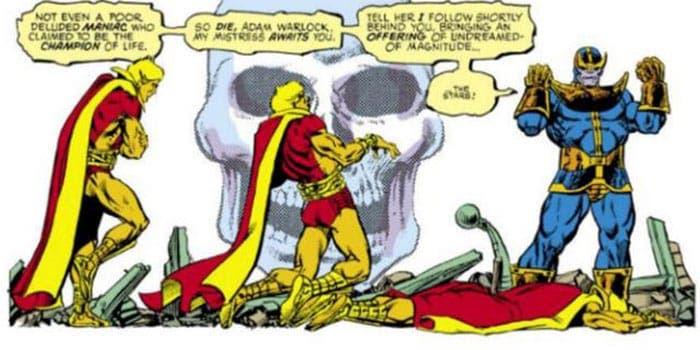 La muerte de Adam Warlock | 12 increíbles escenas que queremos ver en Vengadores: Infinity War