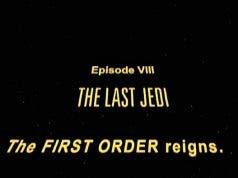 La fanfarria que Rian Johnson cambió en Star Wars: Los Últimos Jedi (2017)