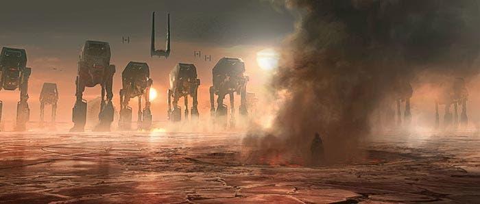 Kylo Ren vs Luke en Star Wars: Los Últimos Jedi