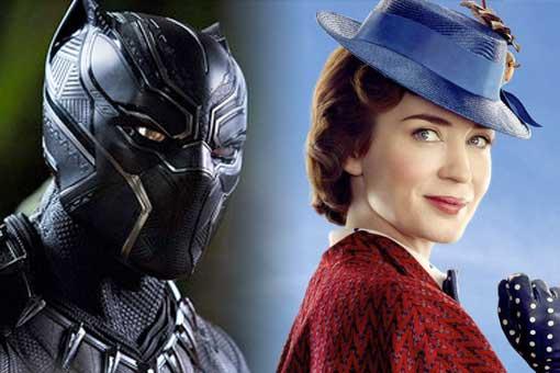 El regreso de Mary Poppins y Black Panther