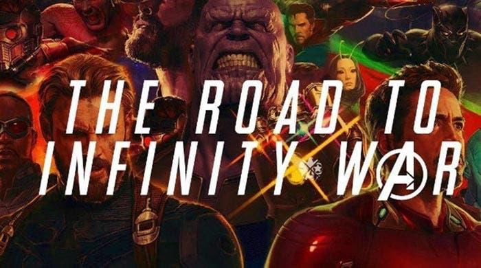 MCU Supercut, antes de Vengadores: Infinity War (2018)