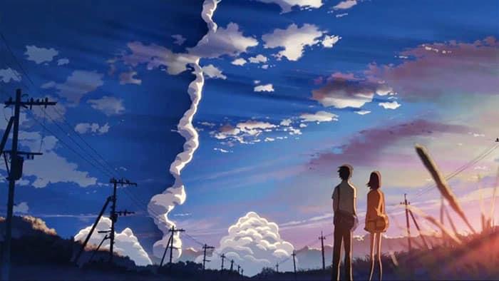 La novela de 5 centímetros por segundo (Makoto Shinkai)