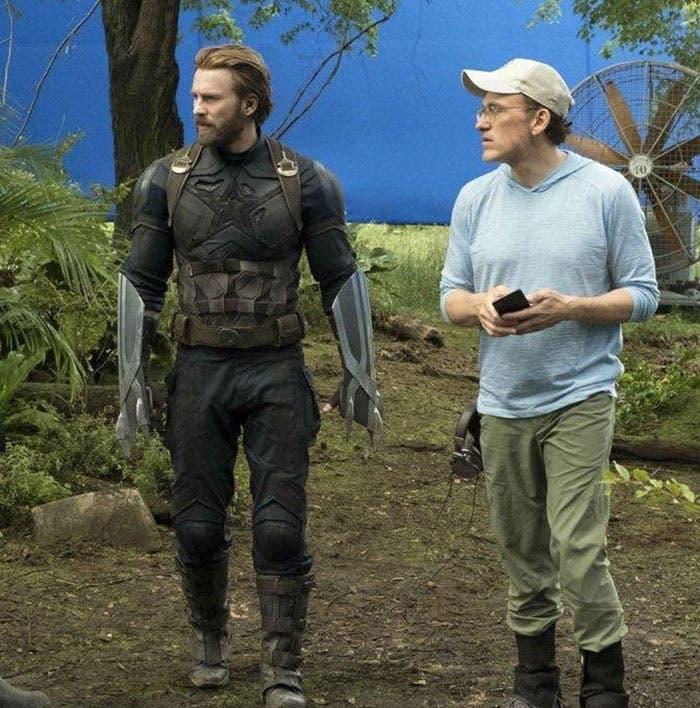 Las garras de Capitán América en Vengadores: Infinity War