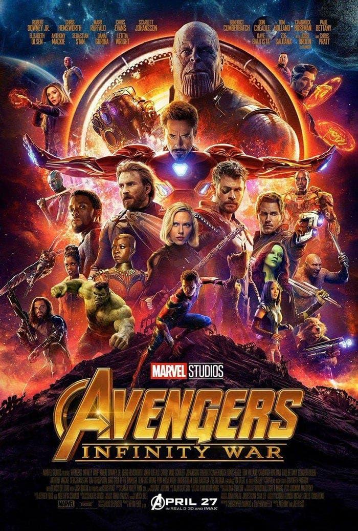 Nuevo póster de Vengadores: Infinity War