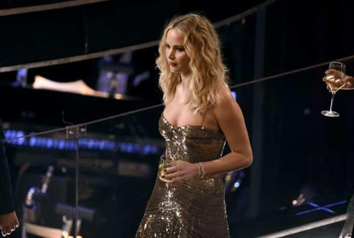 La polémica foto de Jennifer Lawrence en los Oscars 2018