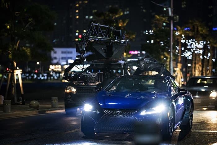 Persecuciones de coches en Black Panther